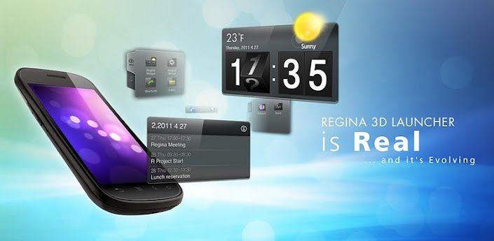 Regina Launcher 3D
