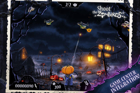 Shoot the Zombirds Graphics