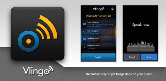 Vlingo Voice app