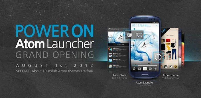 Atom Launcher Application