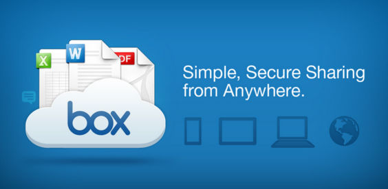 Box Cloud Storage App