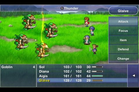 Final Fantasy Dimensions Graphics