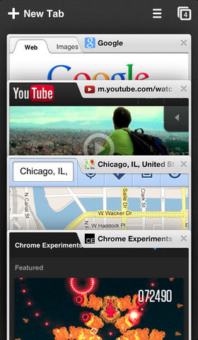 Google Chrome iOS 6