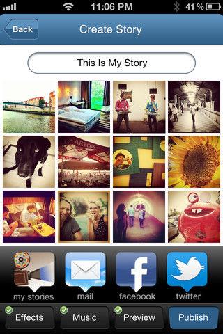 My InstaStory iOS App