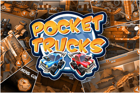 Pocket Trucks iOS game