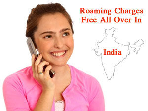 Roaming Charges Free