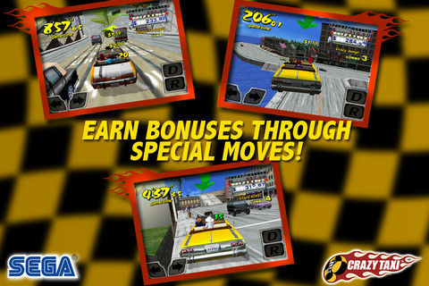 Crazy Taxi Graphics
