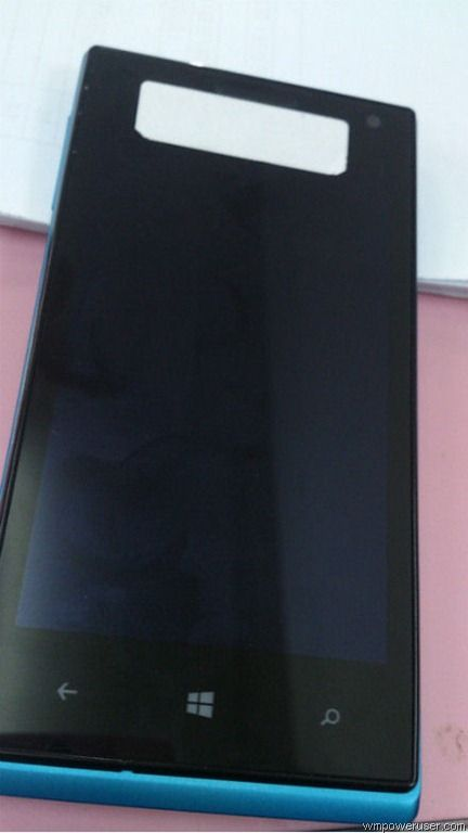 Photos and specs of Huawei W1 with Windows phone 8 leaked