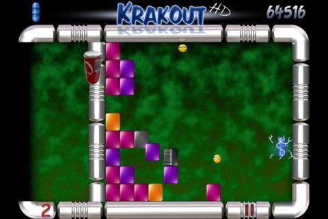 Krakout HD graphics