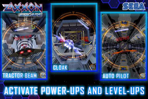 Zaxxon Escape Graphics