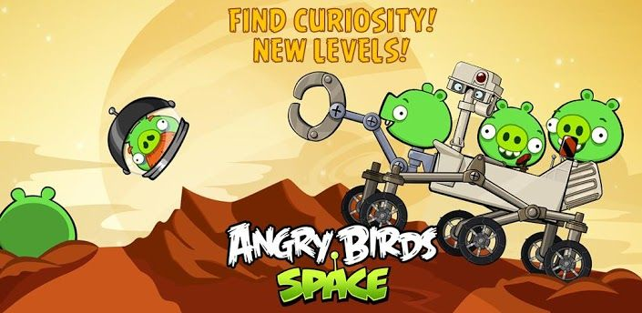 Angry Birds Space new levels