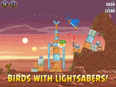 Angry Birds Star Wars Special birds