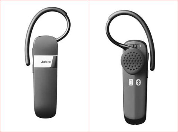 Jabra Talk Bluetooth front back