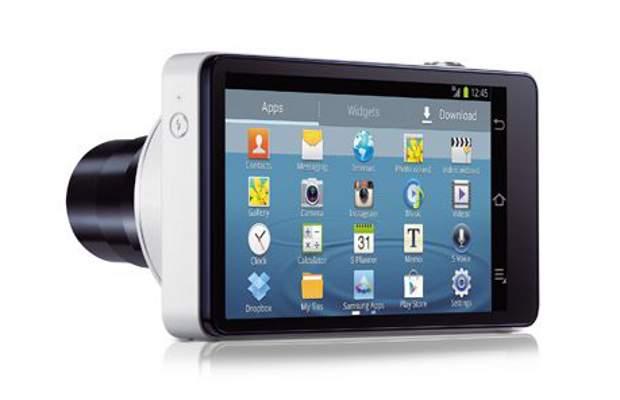 Samsung Galaxy Camera back
