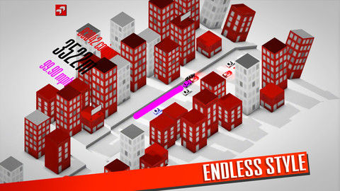 Endless Road Graphics