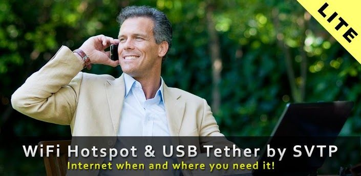 WiFi HotSpot & USB Tether by SVTP