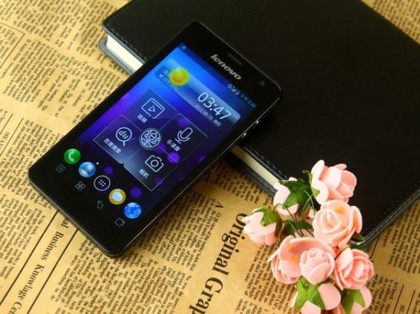 Lenovo IdeaPhone K860 front