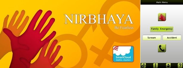 Nirbhaya App safety for women