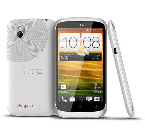 HTC desire Android 4.0 (ice cream sandwich)