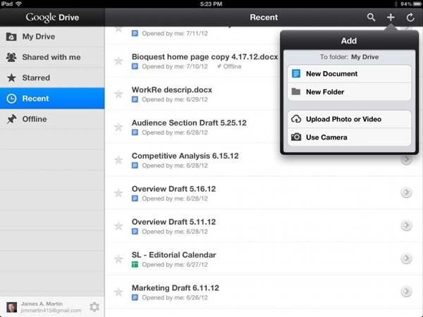 Google Drive Ios Not Downloading