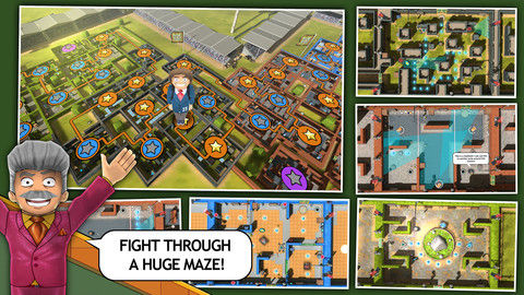 Man in a Maze Levels