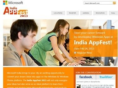 MicrosoftAppFest_Screengrab