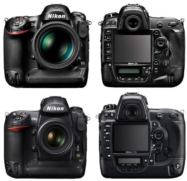 Nikon-D4-vs-D3s-size-comparison