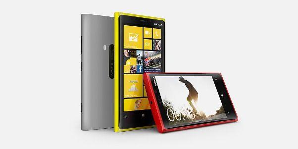 Nokia Lumia 920 Hero front