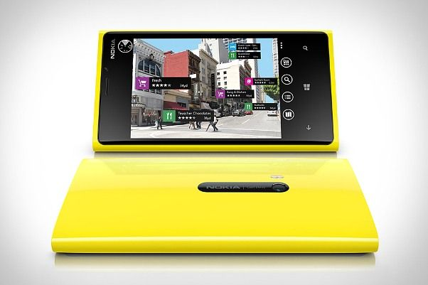 Nokia Lumia 920 Hero yellow