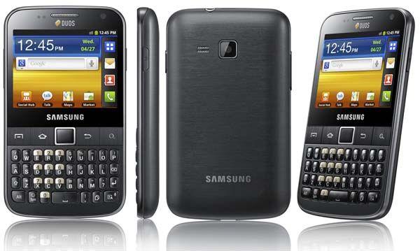 Samsung Galaxy Y Pro Duos price in india