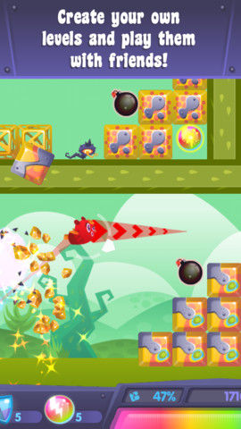 Yumby Smash create levels