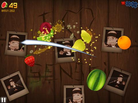 hands free fruit ninja app game