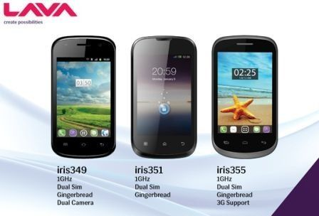 Lava-Iris-phones