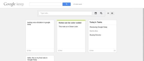 Hands on with Google Keep: 'Keep' all your notes at one place