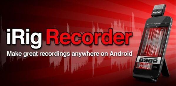 iRig Recorder App