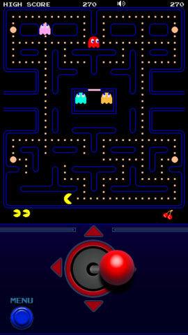 Pacman controls