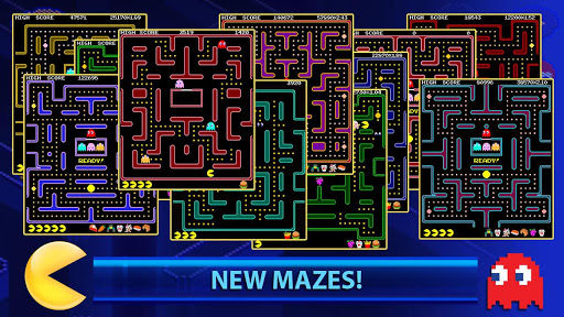 Pacman mazes
