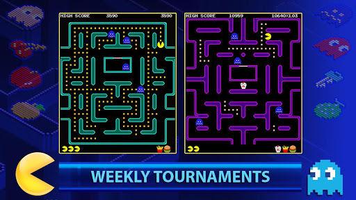 Pacman new tournaments