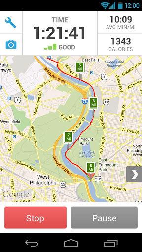 RunKeeper Track record