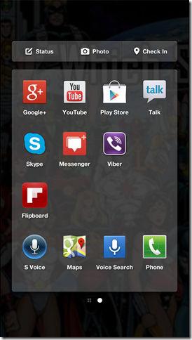 Facebook Home App Launcher