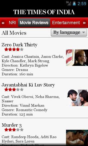 TOI Movie Reviews