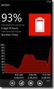 Battery app for Windows Phone