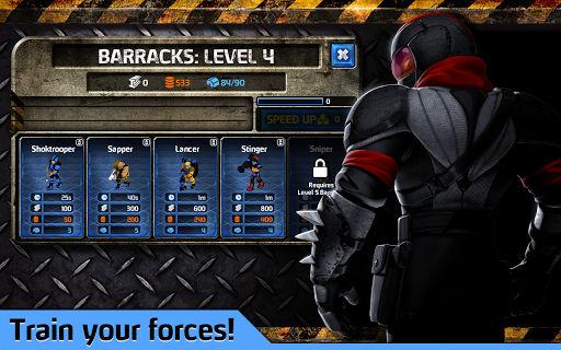 Enemy Lines upgrades