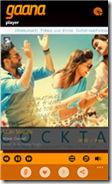 Gaana app on Windows Phone