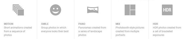 Google+ Auto Enhancement feature for Photos