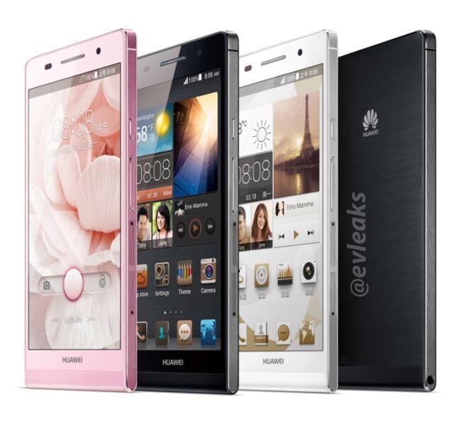 Huawei Ascend P6 photos