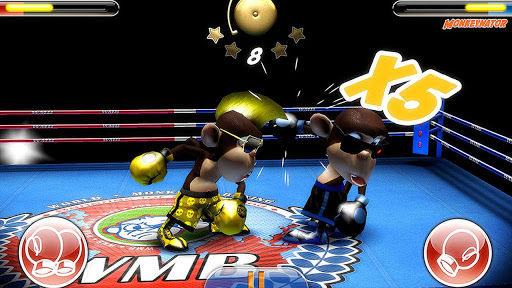 Monkey Boxing Game Play