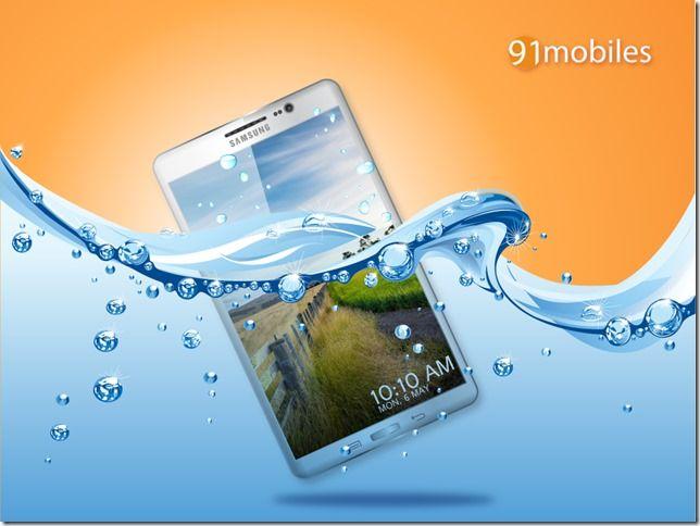Samsung Galaxy S V Underwater