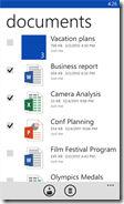 SkyDrive app on Windows Phone