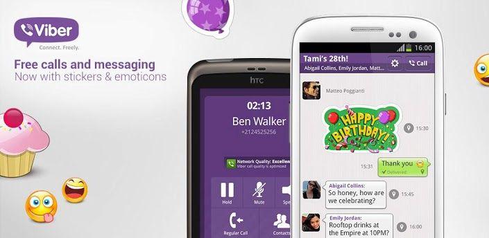 App Review – Viber free calls for Android | 91mobiles com